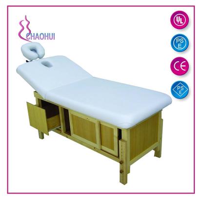 木制美容床的好处您清楚了解吗?